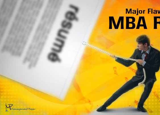 Major Flaws to Avoid in MBA Resume - Green Blog