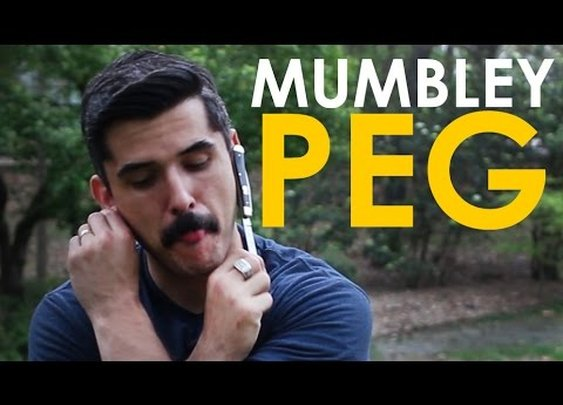 How to Play Mumbley Peg | The Art of Manliness - YouTube