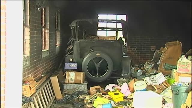 Brush fire destroys classic car | Regional: Berks - Home