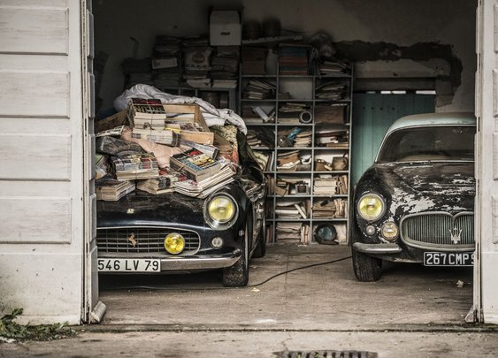Sixty classic cars unearthed after 50 years in massive barn find