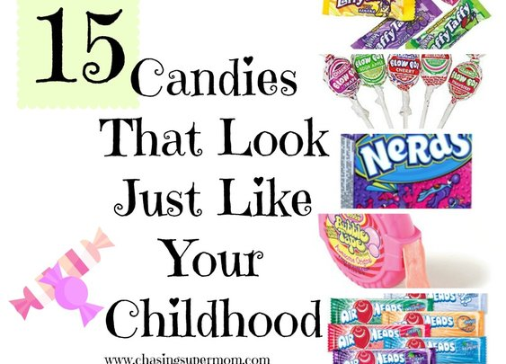 15 Candies That Look Just Like Your Childhood | Chasing Supermom