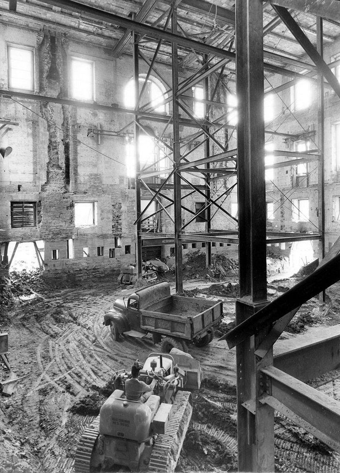 Curiosities: Saving the White House from Collapse