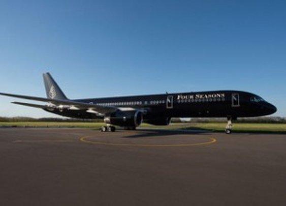 Four Seasons unveils luxury private jet