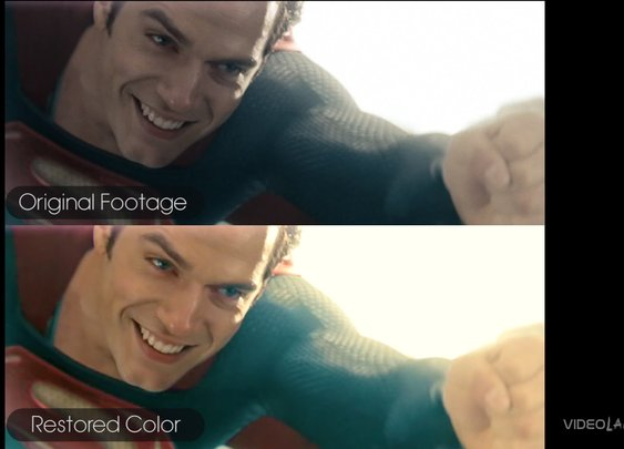 What if Man of Steel was IN COLOR?