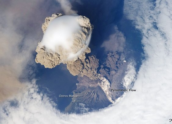 Sarychev Peak Eruption, Kuril Islands : Image of the Day