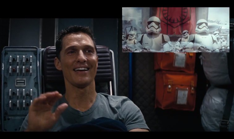 Matthew McConaughey's Reaction To New 'Star Wars' Trailer Describes Us All