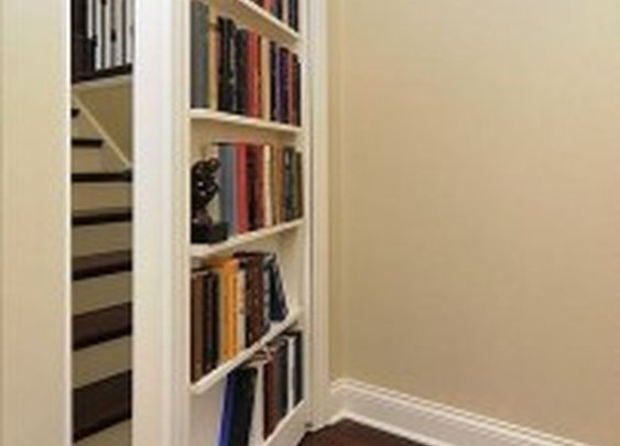 Secret Fake Bookcase Door | StashVault
