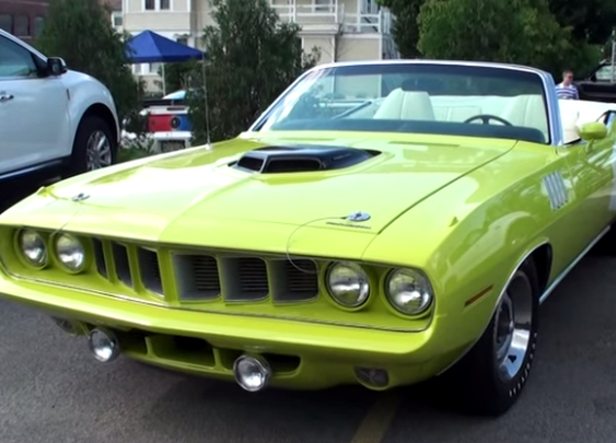 WICKED 1971 PLYMOUTH HEMI BARRACUDA CONVERTIBLE