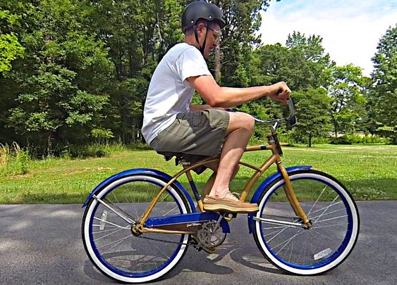 The Backwards Brain Bicycle - Smarter Every Day