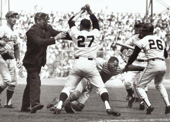 Basebrawls: Aug. 22, 1965, Giants and Dodgers