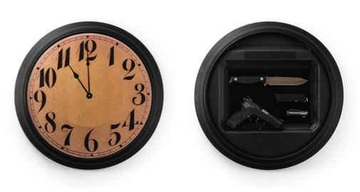 Tactical Wall Clock