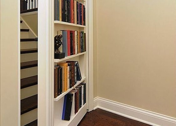 Secret compartments. Hidden doors. Secure stashes. - StashVault