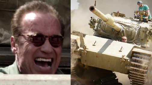 Arnold's Over The Top Trailer: Tanks For Nothing