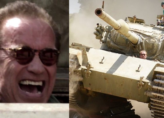 Arnold's Over The Top Trailer: Tanks ForNothing