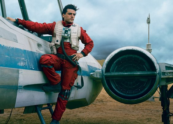 Star Wars The Force Awakens Cast Poses for Vanity Fair's Cover