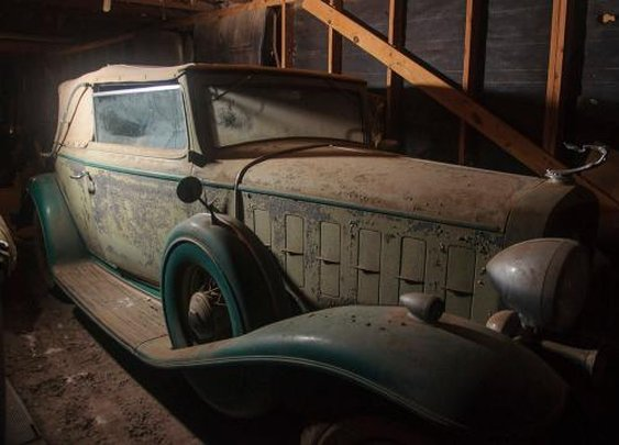 Texas Time Capsule: Five Pre-War Classics Found in a Barn