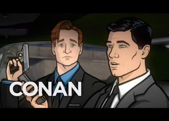 Conan & Archer Battle Russian Mobsters