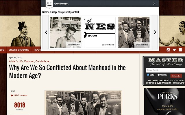 The Gentlemint Chrome Extension