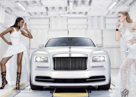 """Rolls-Royce Wraith """"Inspired by Fashion"""" Is A Tribute To Haute Couture"""