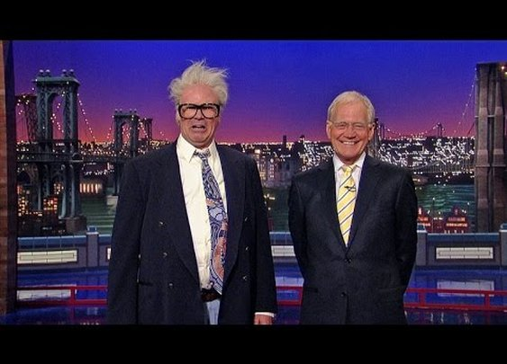 Will Ferrell as Harry Caray - David Letterman - YouTube
