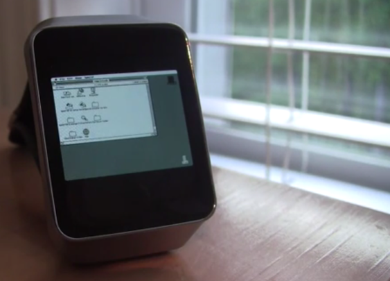 Forget the Apple Watch, Here's a Macintosh II Smartwatch