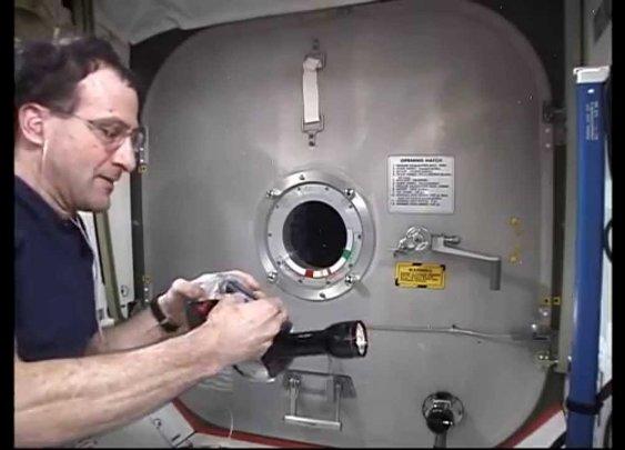 Gyroscopic Platform in Microgravity - YouTube