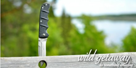 Top quality knife for your camping pack