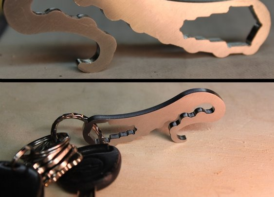 Tentaclip - Pocket clip / bottle opener / multi-tool - Kickstarter