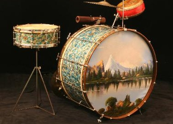 Drum Kits From the Jazz Age