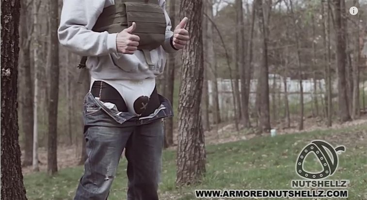 NutShellz: Armor For Your Junk (Test Video)