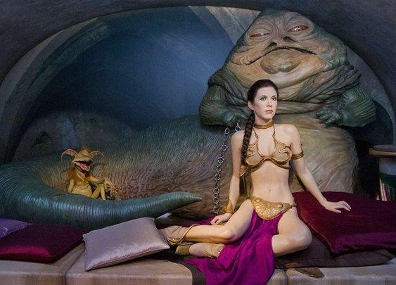 Madame Tussauds creates Star Wars tableau to lure sad 50 year olds