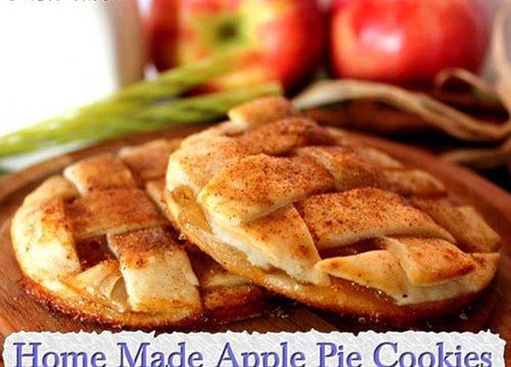 Home Made Apple Pie Cookies
