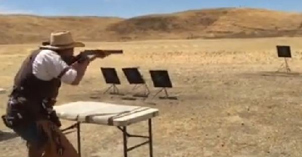 Old West Style Tactical Shooting