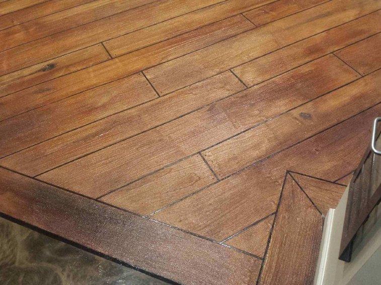 Concrete Wood Texture