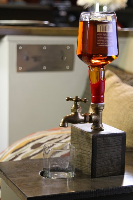 Bourbon Tap.