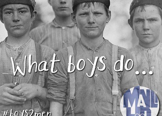 What boys do… Part 3 – Waste Time #boys2men