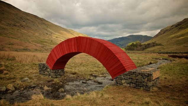 This Bridge Is Made From Nothing But 22,000 Sheets of Paper