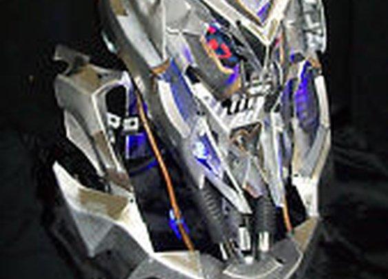 Transformers Megatron Helmet With Lights AND Neck Mechanics