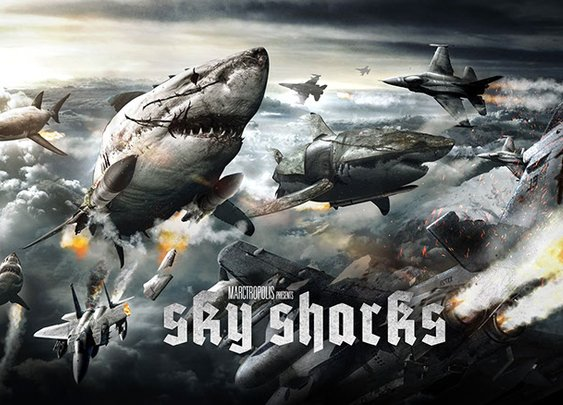 Nazi zombies ride flying mutant sharks in first trailer for Sky Sharks