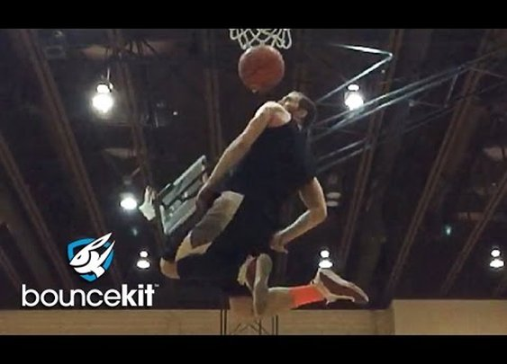 """BEST Dunk Of All Time? 6'1 Jordan Kilganon Hits """"Lost And Found"""" - YouTube"""