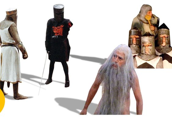 Monty Python Best Scenes - Terry Jones on Monty Python Best Movie Moments