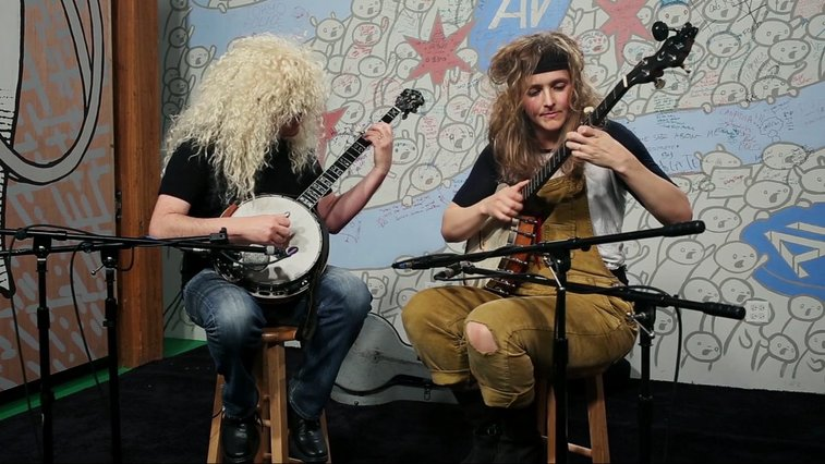 "Béla Fleck and Abigail Washburn cover ""The Final Countdown"" · A.V. Undercover · The A.V. Club"