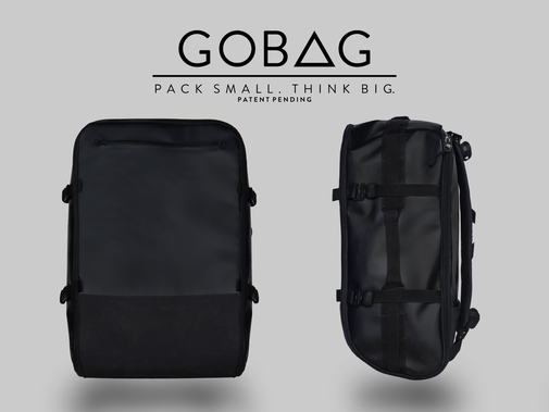 GOBAG - A Vacuum Compressible Carry-On Bag For Any Adventure by James Fyfe — Kickstarter