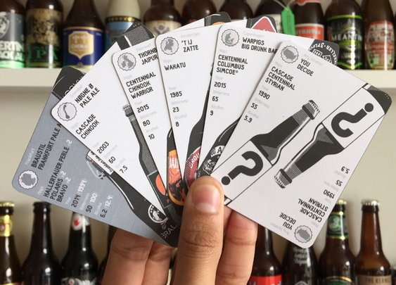 hip hops - the beer card game by Francis Madeira — Kickstarter