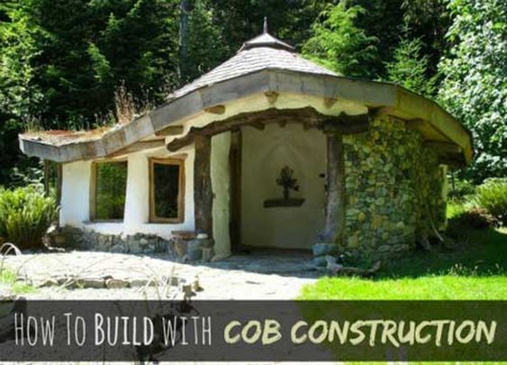 Build a Cob House with Cob Construction