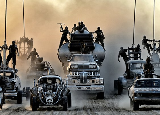 How The Man Behind The Machines Of Mad Max Put A Hellscape On Wheels
