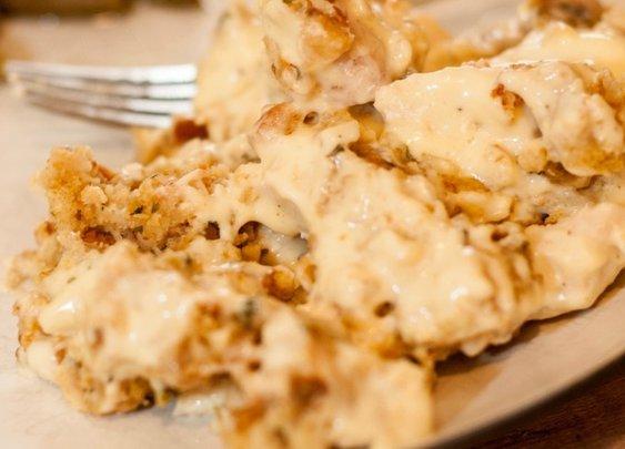 Zaycon Chicken & Stuffing Casserole | Chasing Supermom