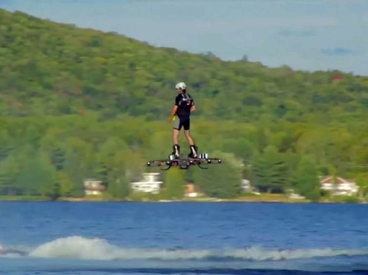 A Guy Just Broke the World Record for the Farthest Flight on Hoverboard | Maxim