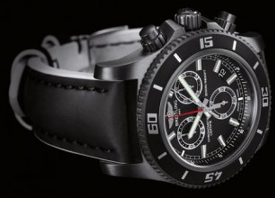 Breitling Superocean M2000 Chronograph in Black Steel