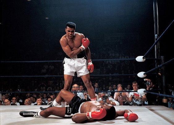 Ali-Liston 50th anniversary: The true story behind Neil Leifer's perfect photo.